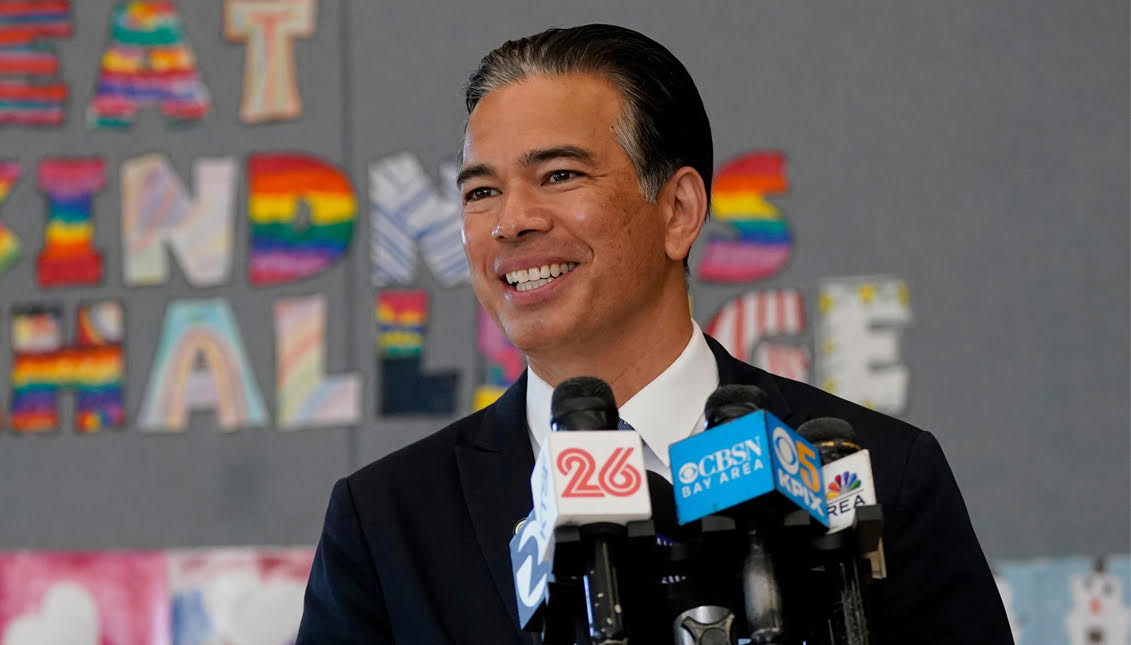 aldianews.com: Rob Bonta's appointment as California Attorney General is huge for U.S. Asian-American representation