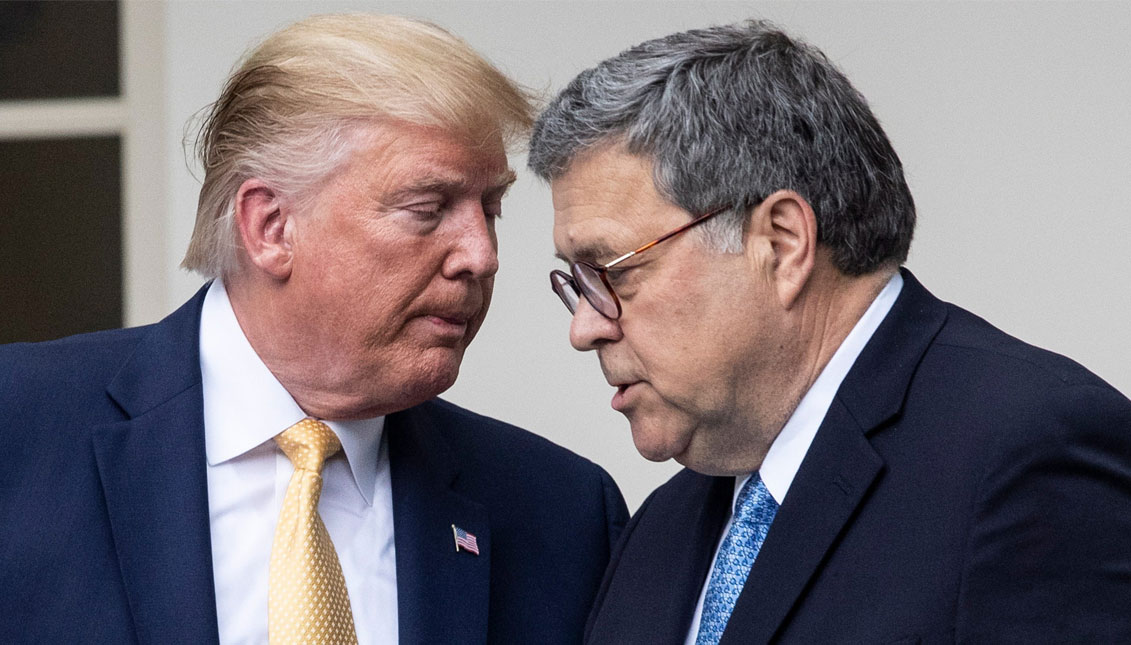 Barr says he doesn't envision investigations of Biden, Obama
