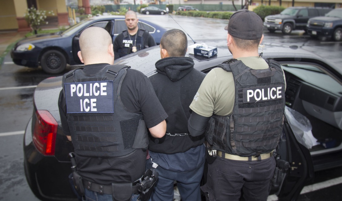 ICE agents carry out detention operations throughout the country. Photo provided by ICE.