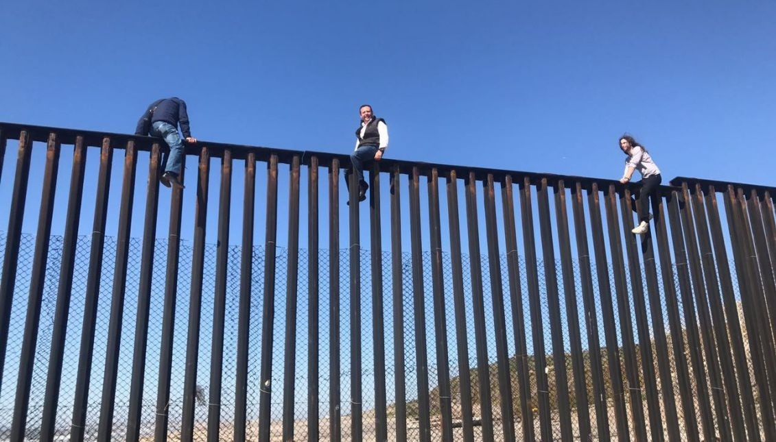 Image result for trump's border wall images