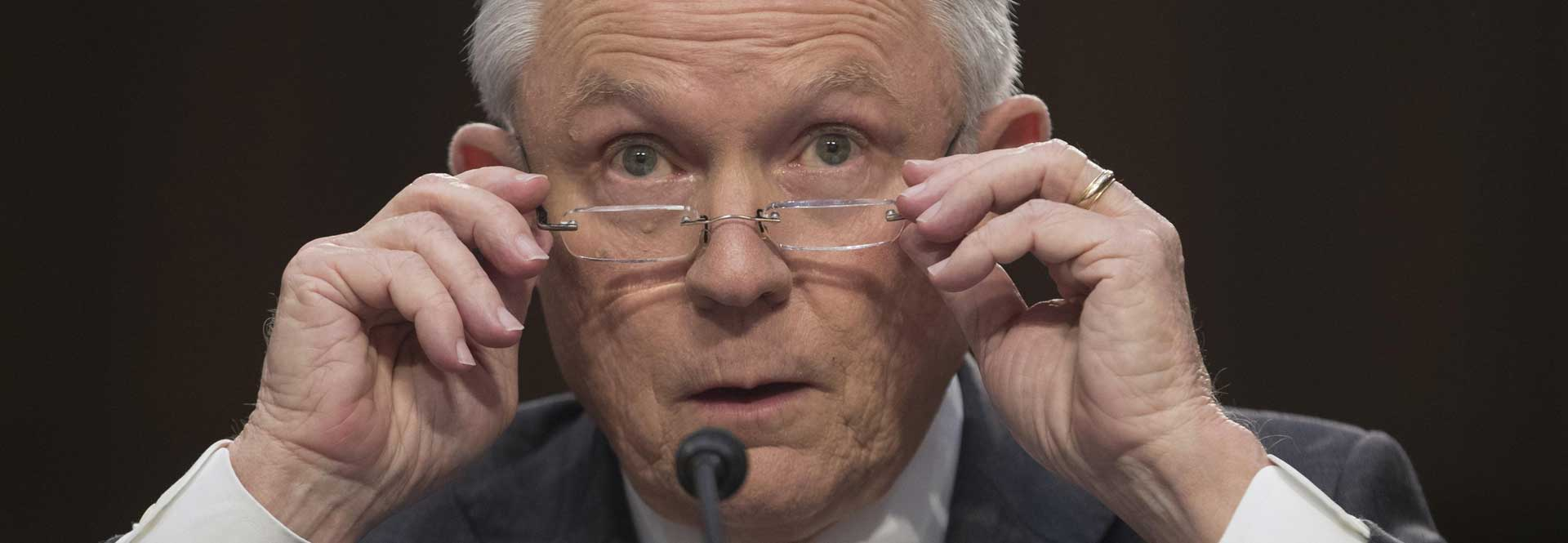 US Attorney Jeff Sessions testifies before the Senate Intelligence Committee about the FBI's investigation into US President Donald Trump's election campaign and his possible connection with Russia. EFE