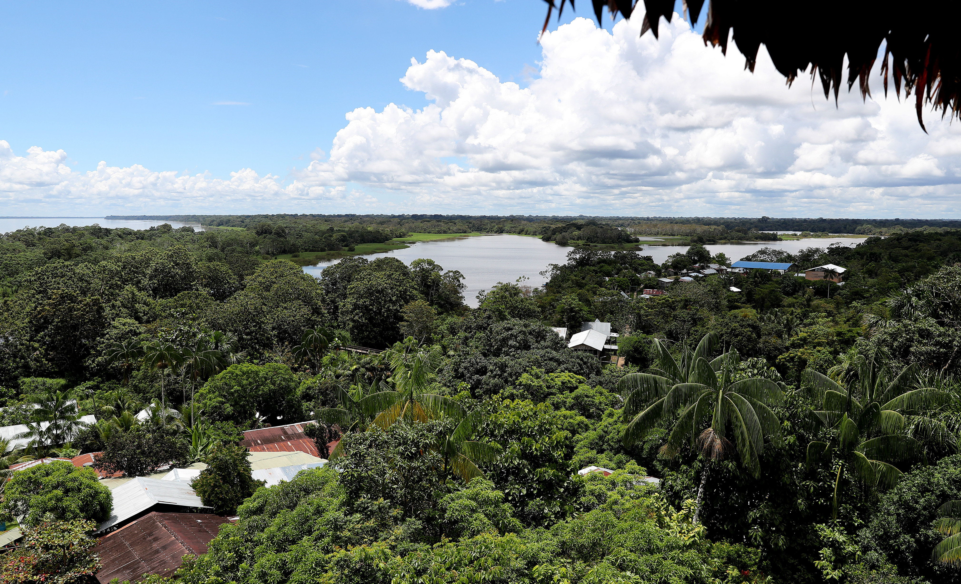 View of the general area ofPuerto Nariño, in the Amazons (Colombia). 18 January 2018: EFE