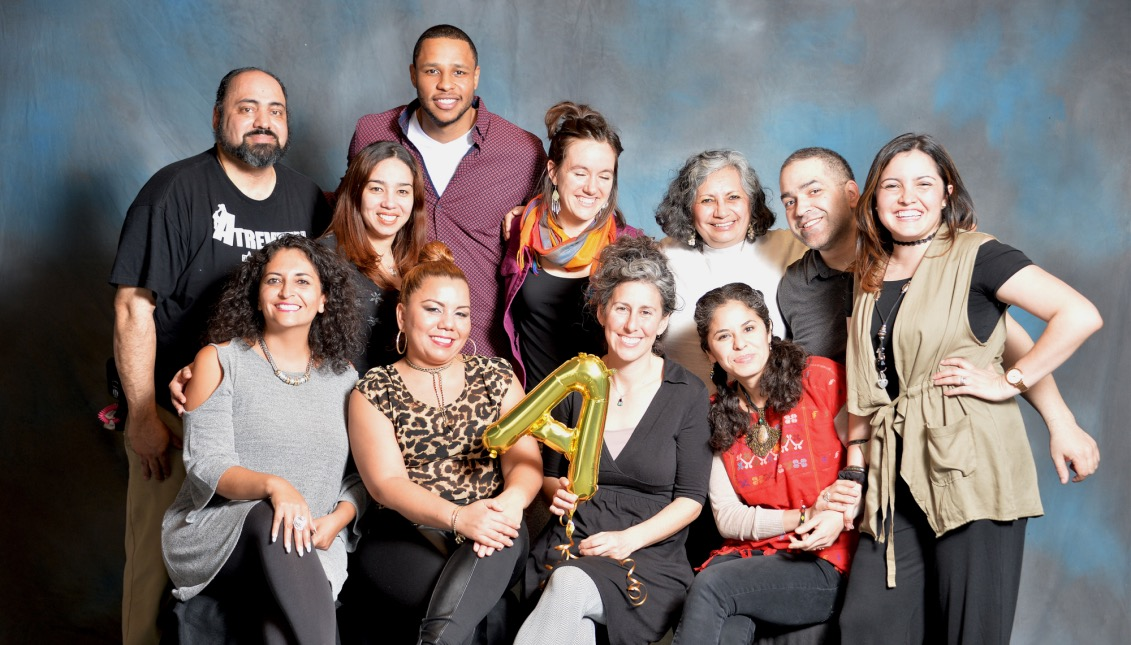The Atrévete team includes people from different backgrounds, Latin America and the United States. Photo: Peter Fitzpatrick / AL DÍA News.