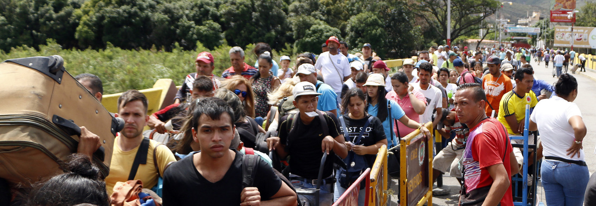 Venezuelans flee in droves