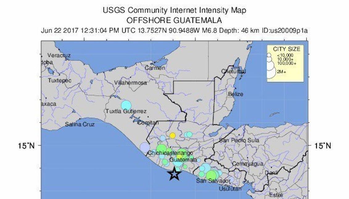 Terremoto En Guatemala El Salvador Y Honduras Al Dia News