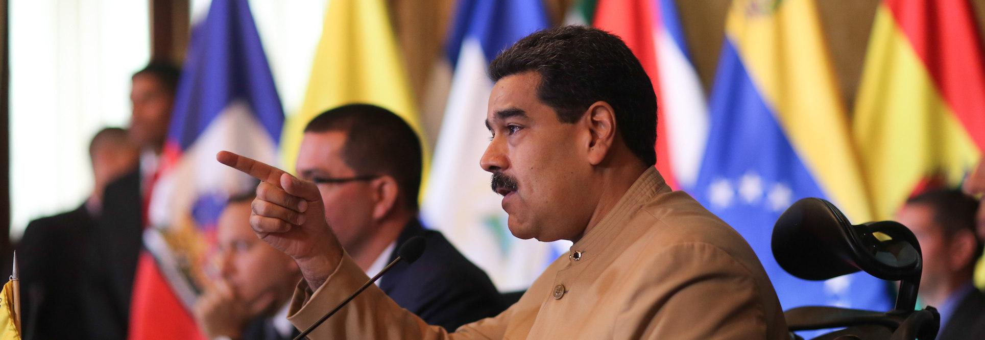 América se une en contra de Maduro