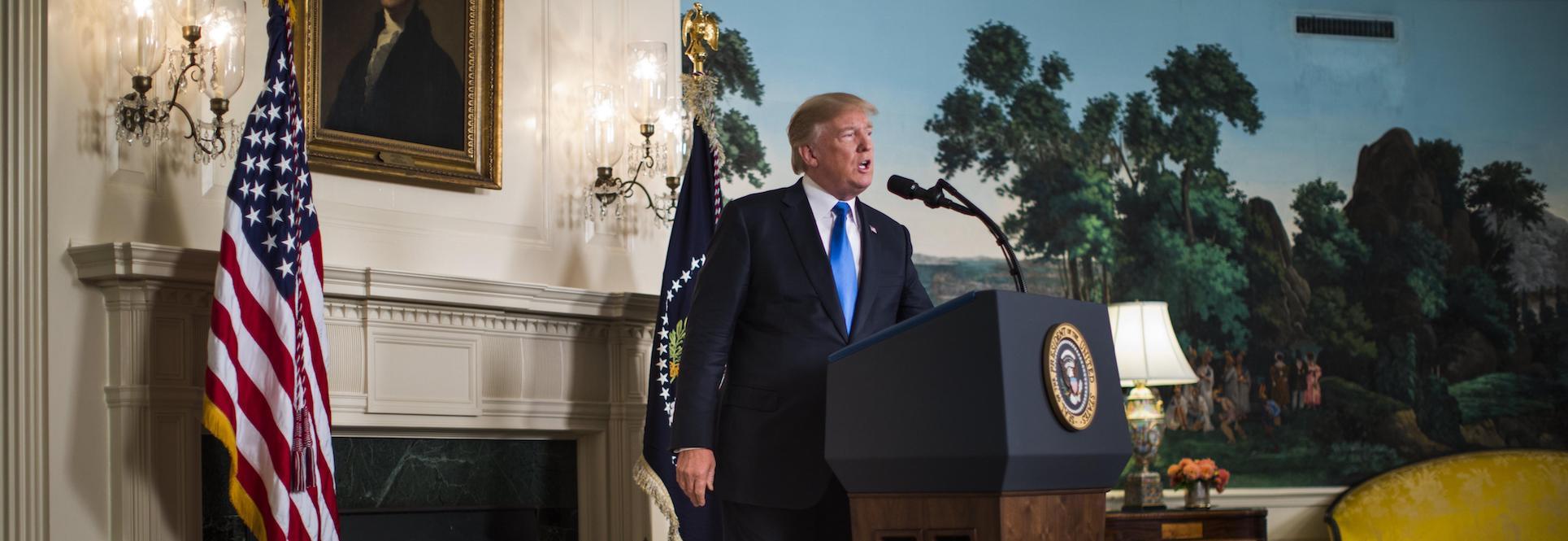 Trump will not certify Iran