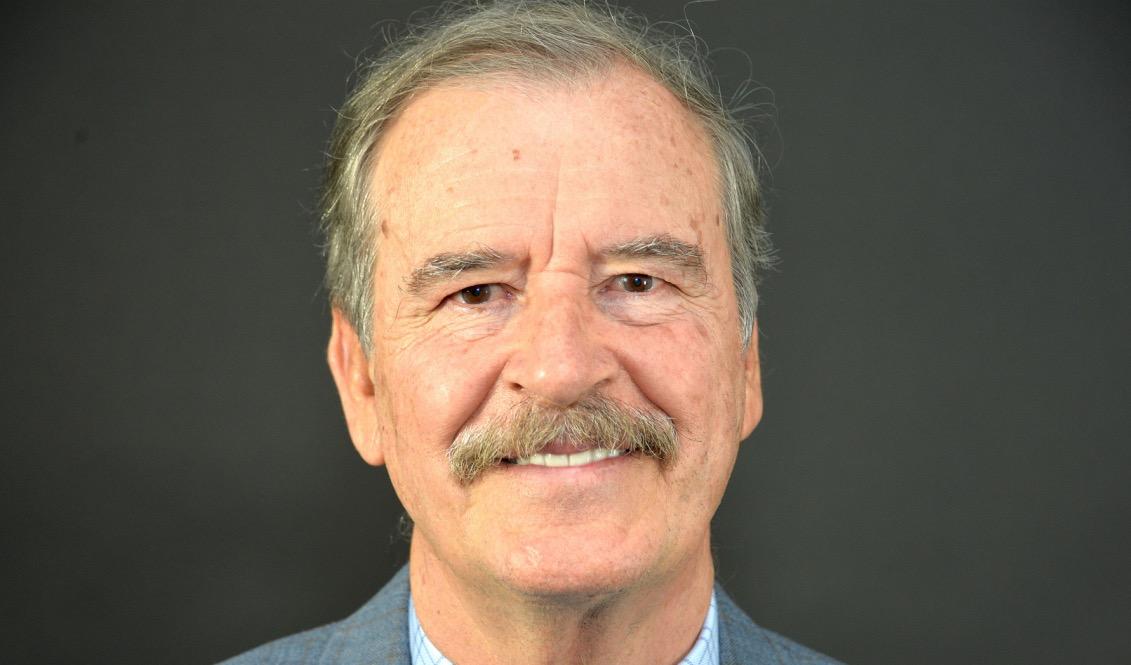Vicente Fox le concedió una entrevista exclusiva a AL DÍA News durante su visita a Filadelfia, invitado por el World Affairs Council of Philadelphia. Foto: Peter Fitzpatrick/AL DÍA News.
