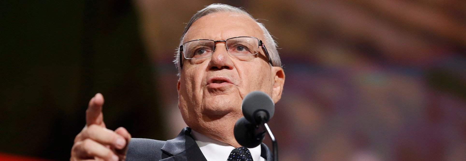 Arpaio is back