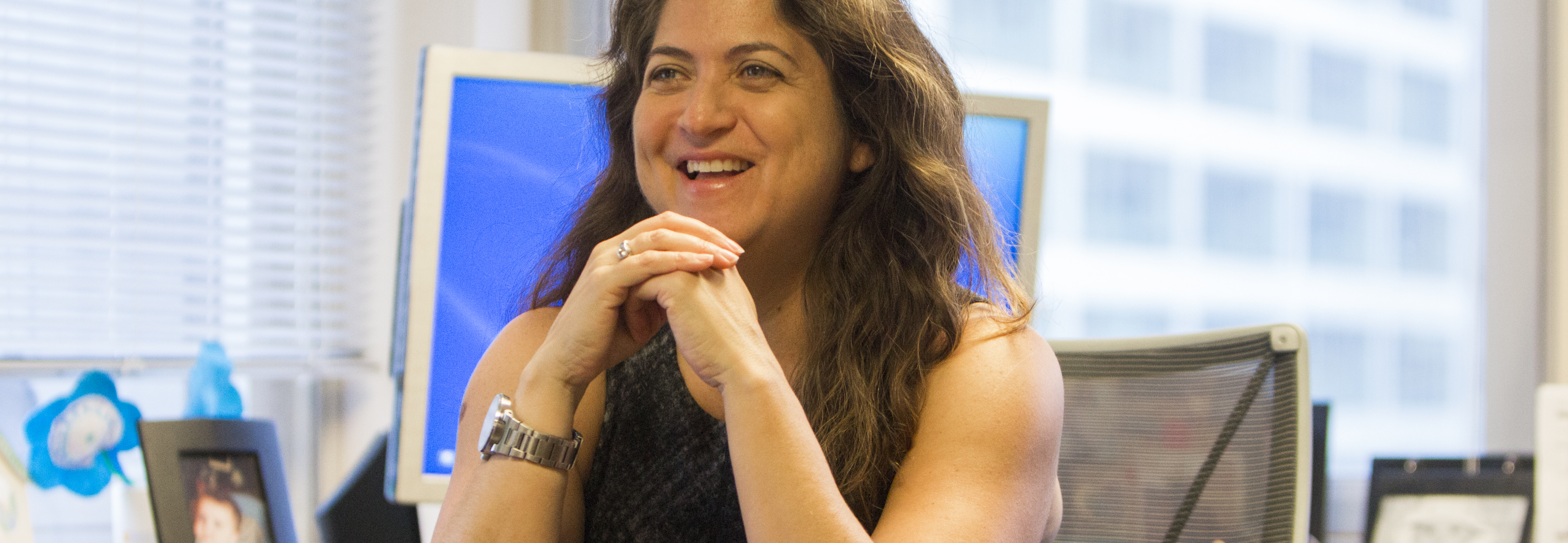 Cynthia Figueroa, Philadelphia's Commissioner of the Department of Human Services. Foto: Samantha Laub / AL DÍA News