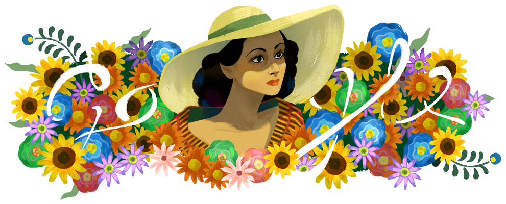 """Celebrating Dolores del Río"" by Google"