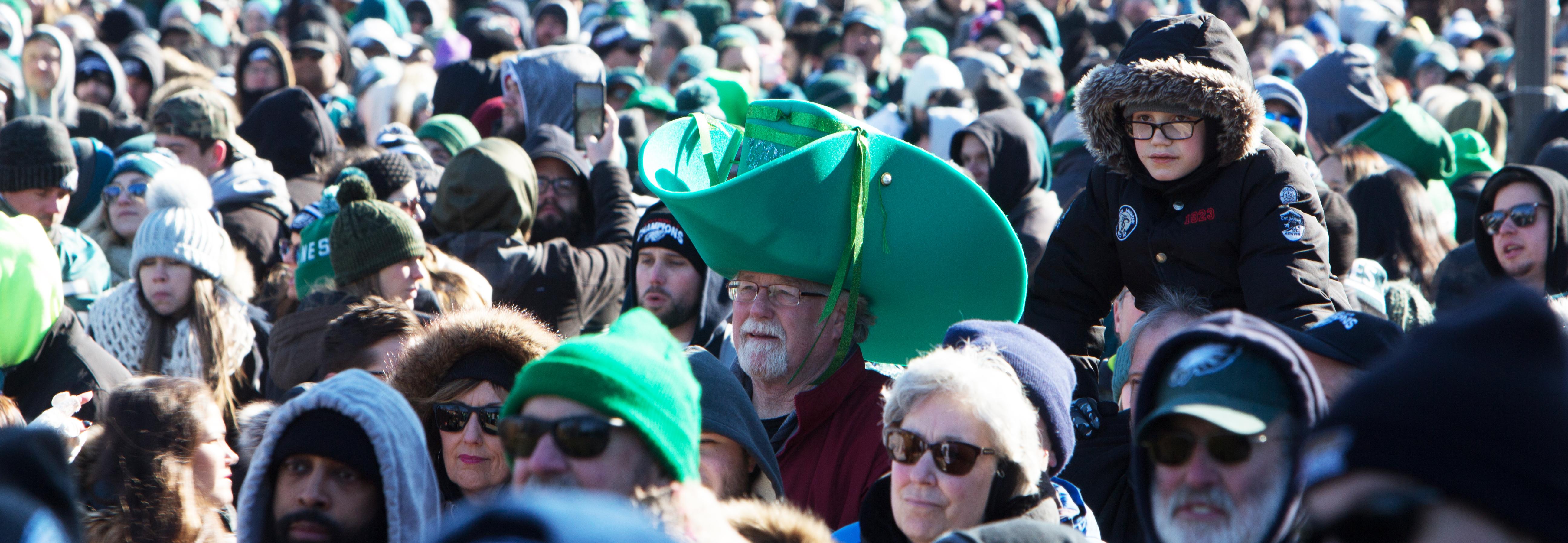 Eagles Parade in Philadelphia