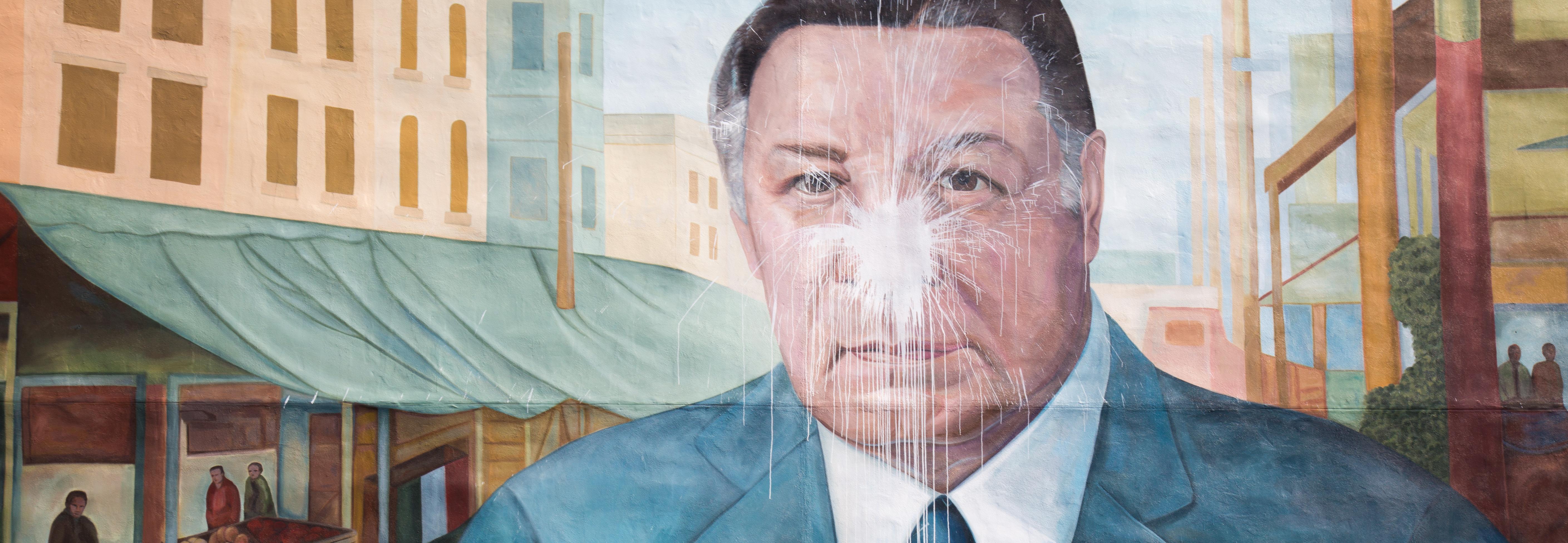 Frank Rizzo mural. Samantha Laub/ALDÍANews