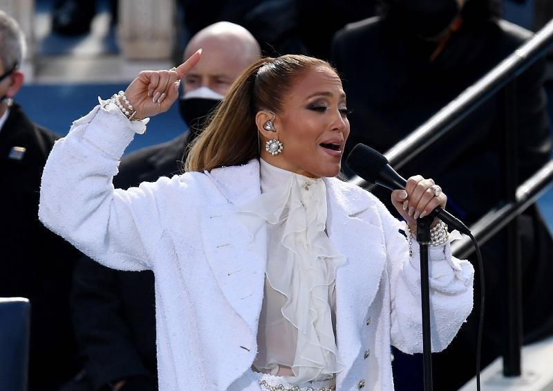 Lady Gaga, Jennifer Lopez and Garth Brooks perform at Biden's inauguration