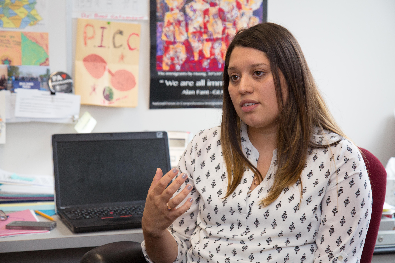 Maria Sotomayor, deputy director at the Pennsylvania Immigrant and Citizenship Coalition.Samantha Laub / AL DÍA News