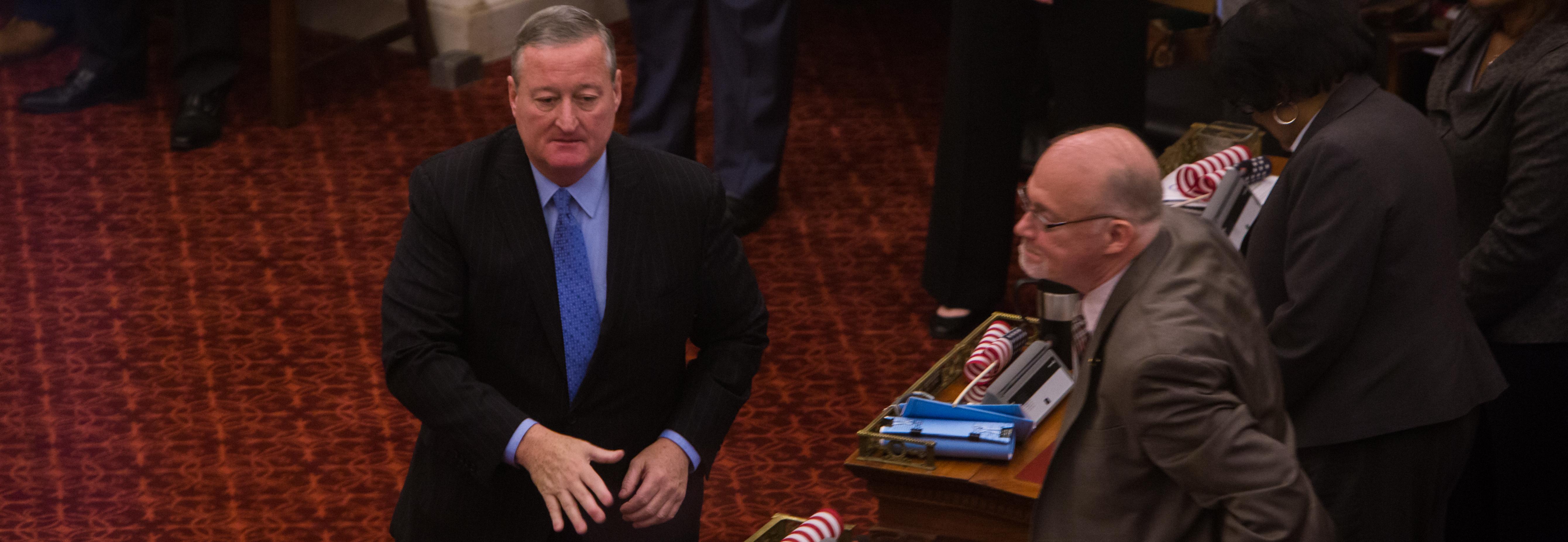 Jim Kenney, alcalde de Filadelfia. Foto: Samantha Laub / AL DÍA News