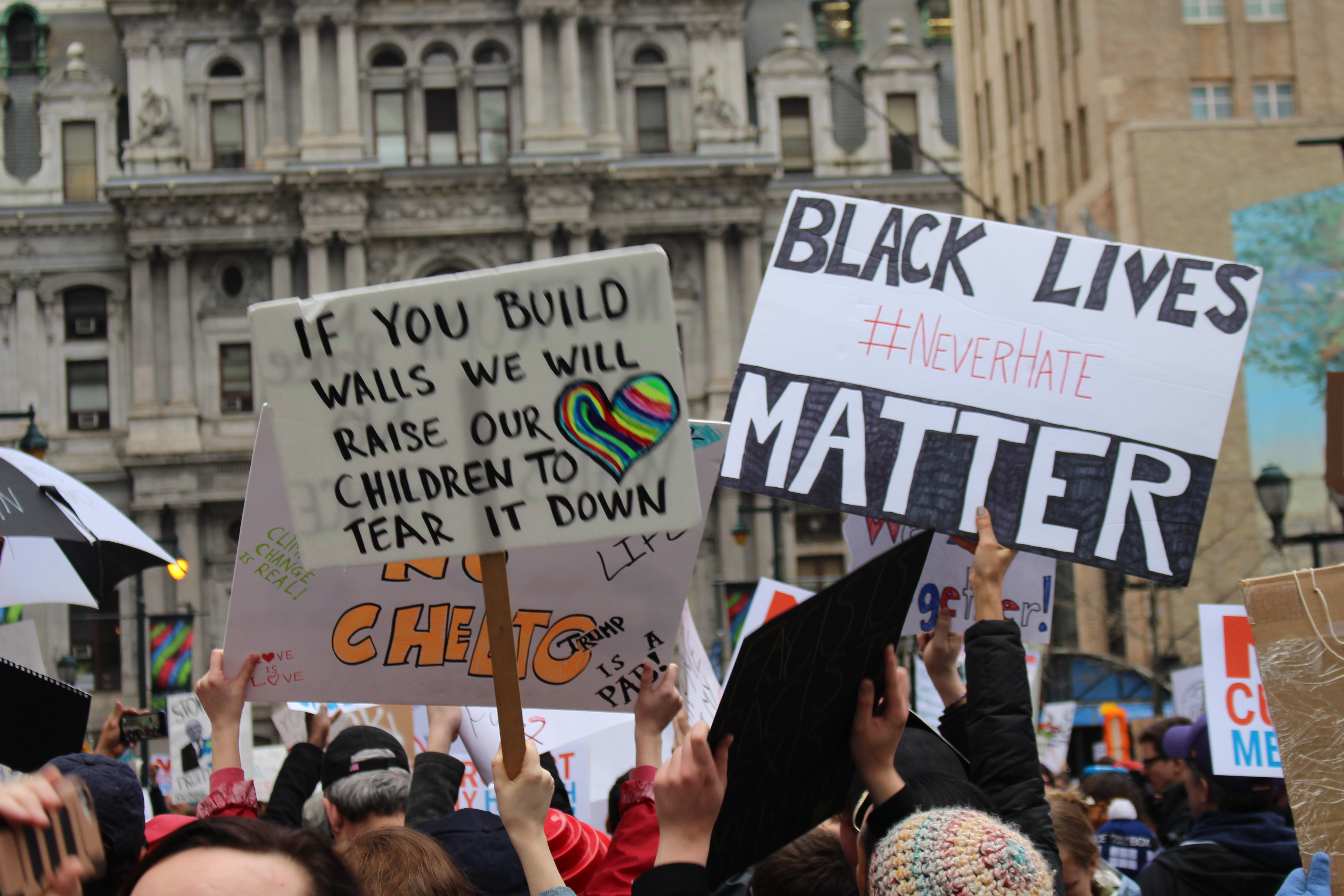 Protest in January 2017 in Philadelphia. Photo: Yesid Vargas /AL DÍA News