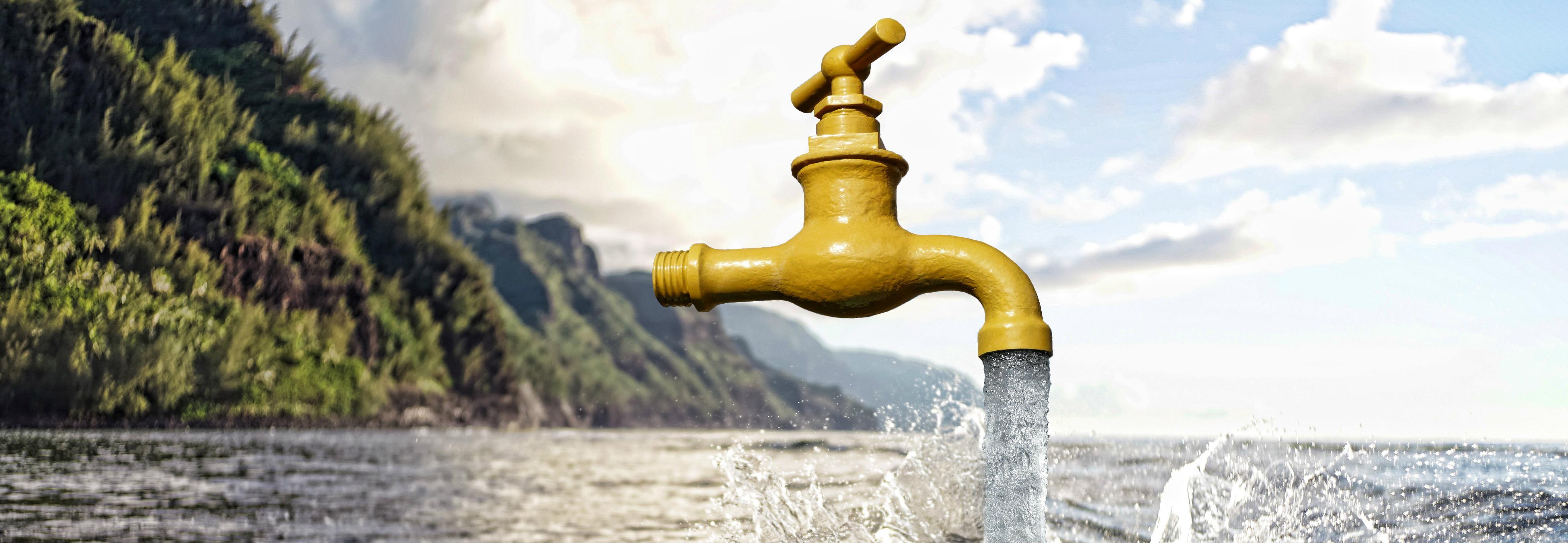 El boom del agua cruda