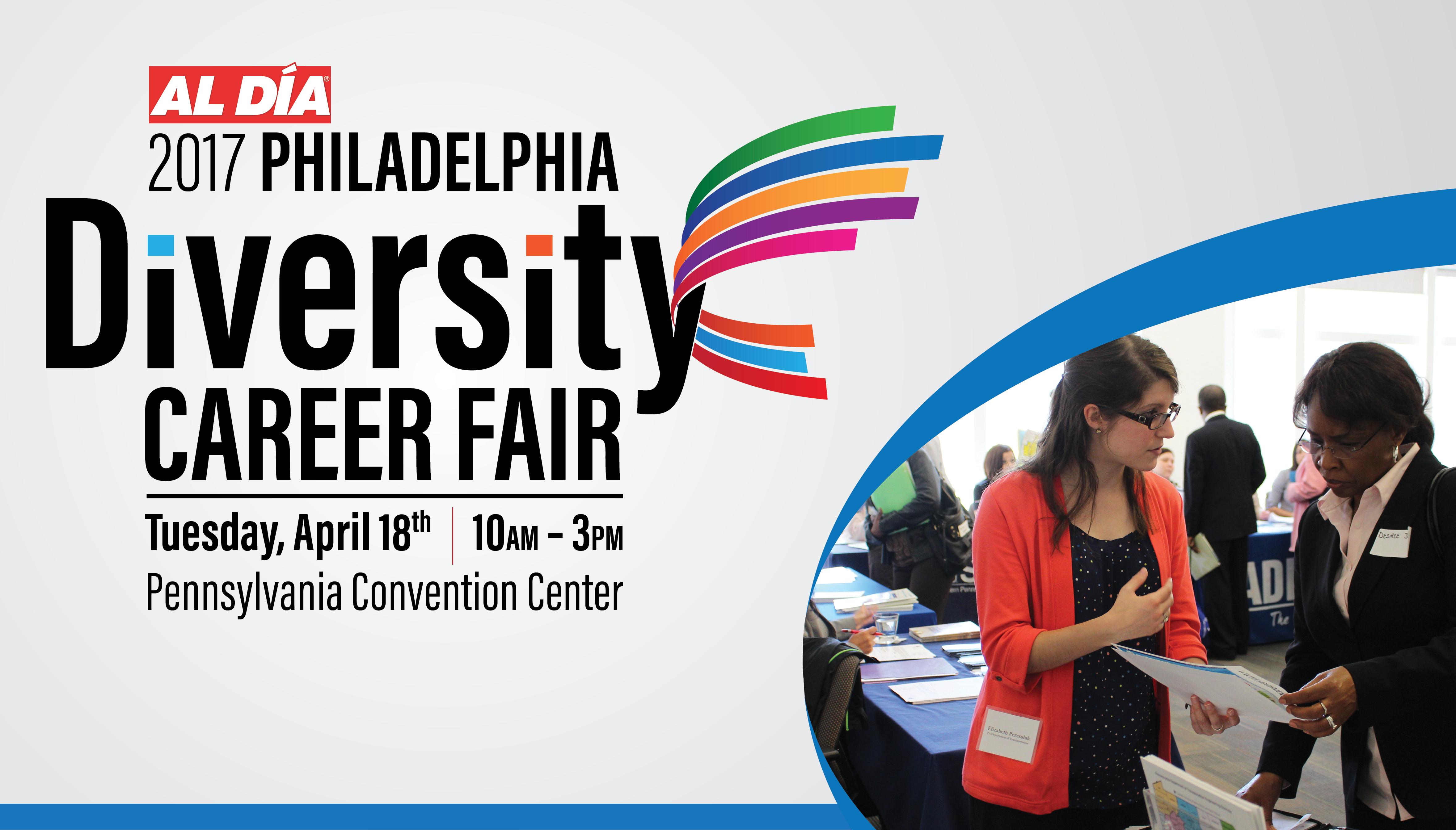 Banner design for job fair - Philadelphia Diversity Career Fair