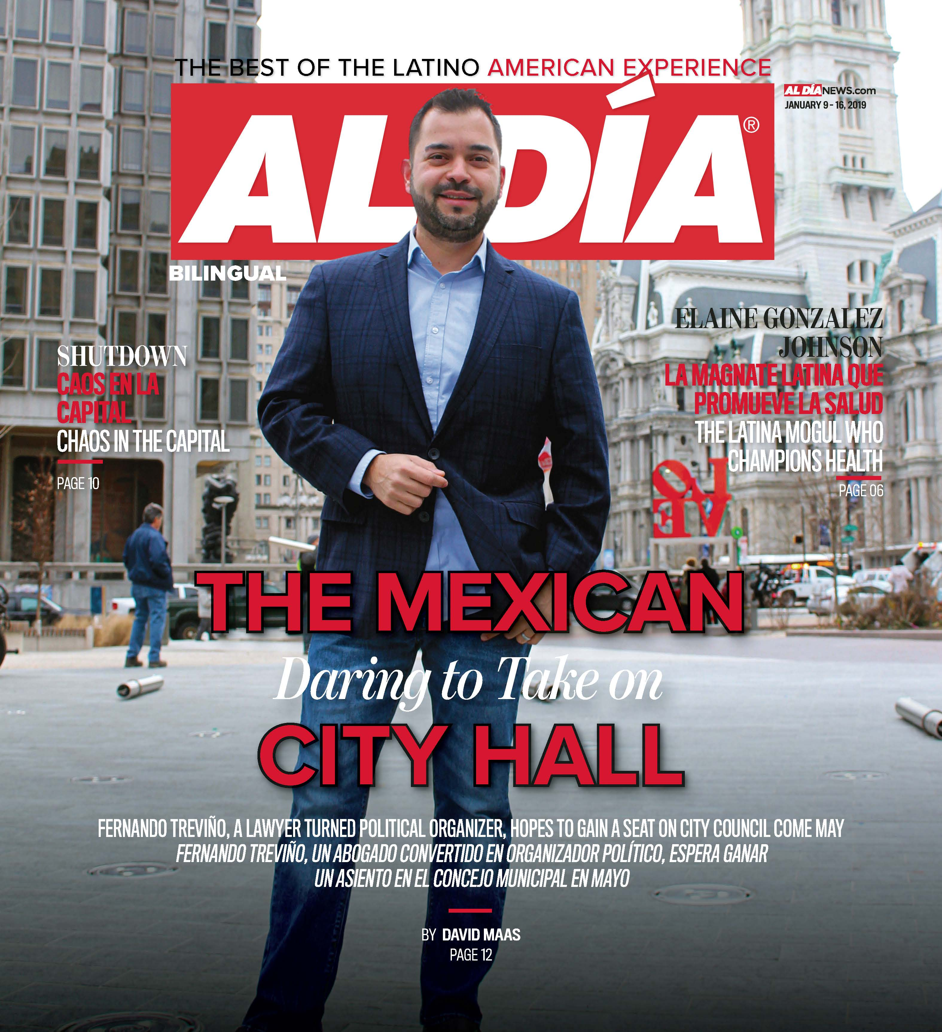 AL DIA News Print Edition January 09 - 16, 2019