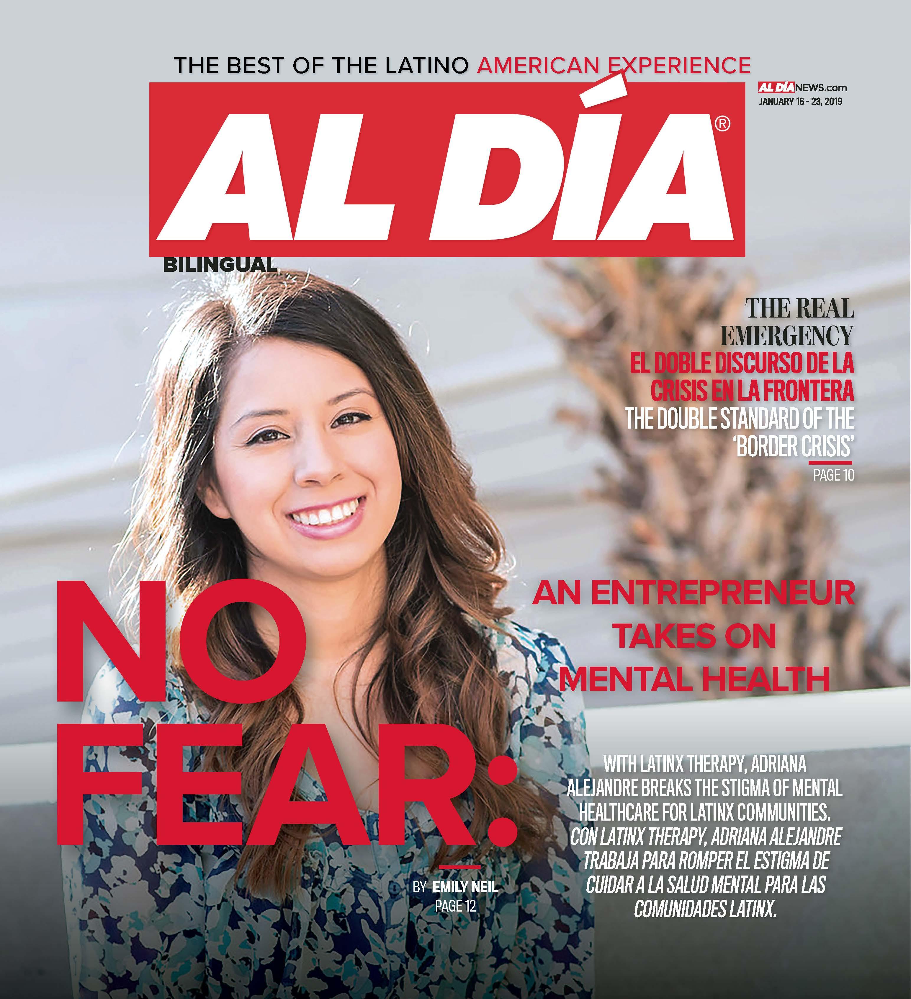 AL DIA News Print Edition January 16 - 23, 2019