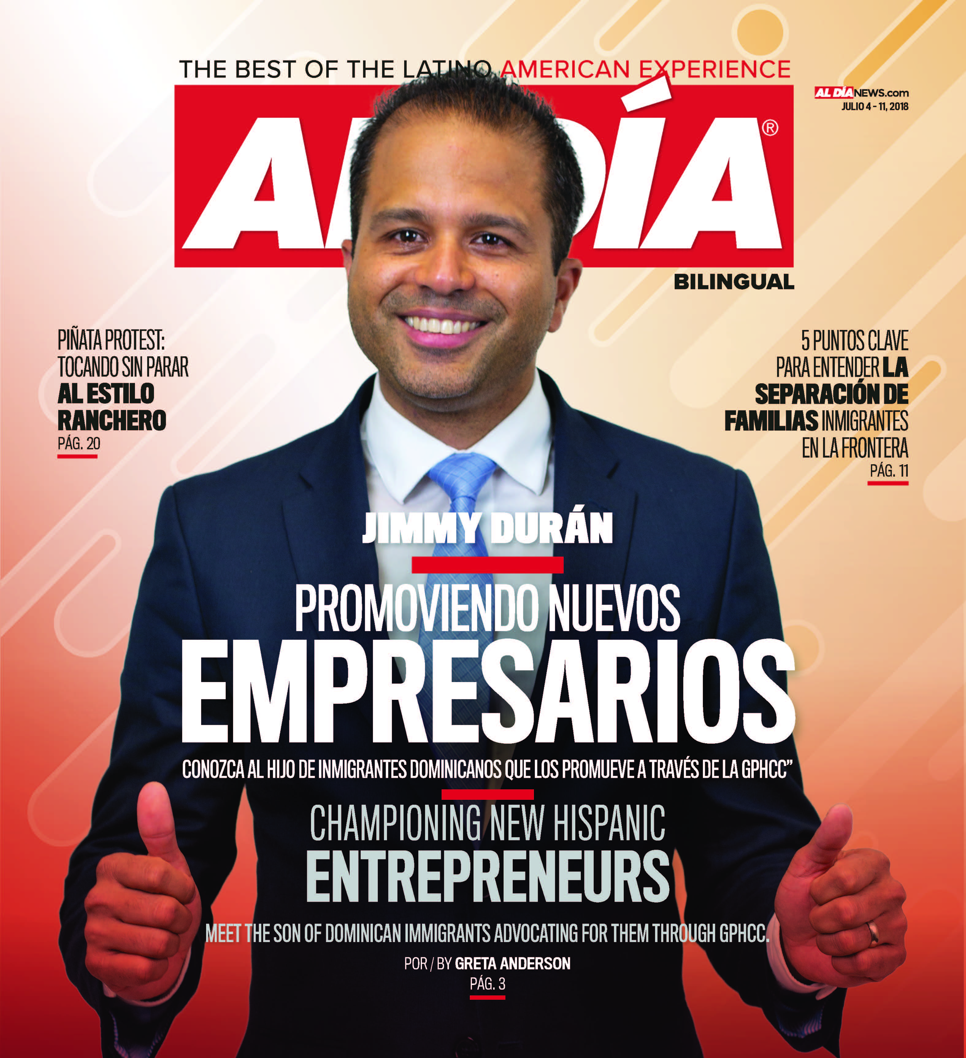 AL DIA News Print Edition July 04 - 11, 2018