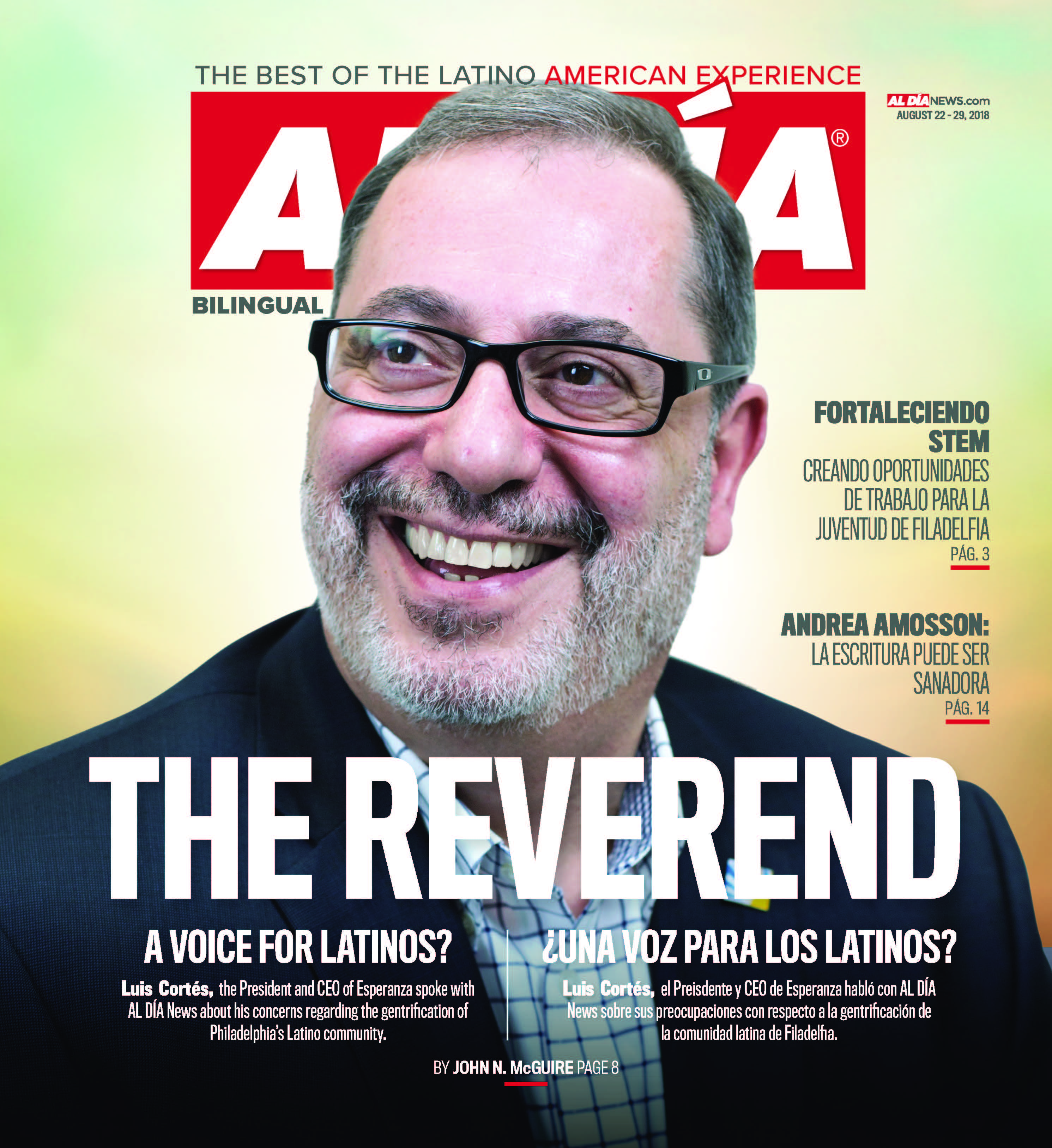 AL DIA News Print Edition August 22 - 29, 2018