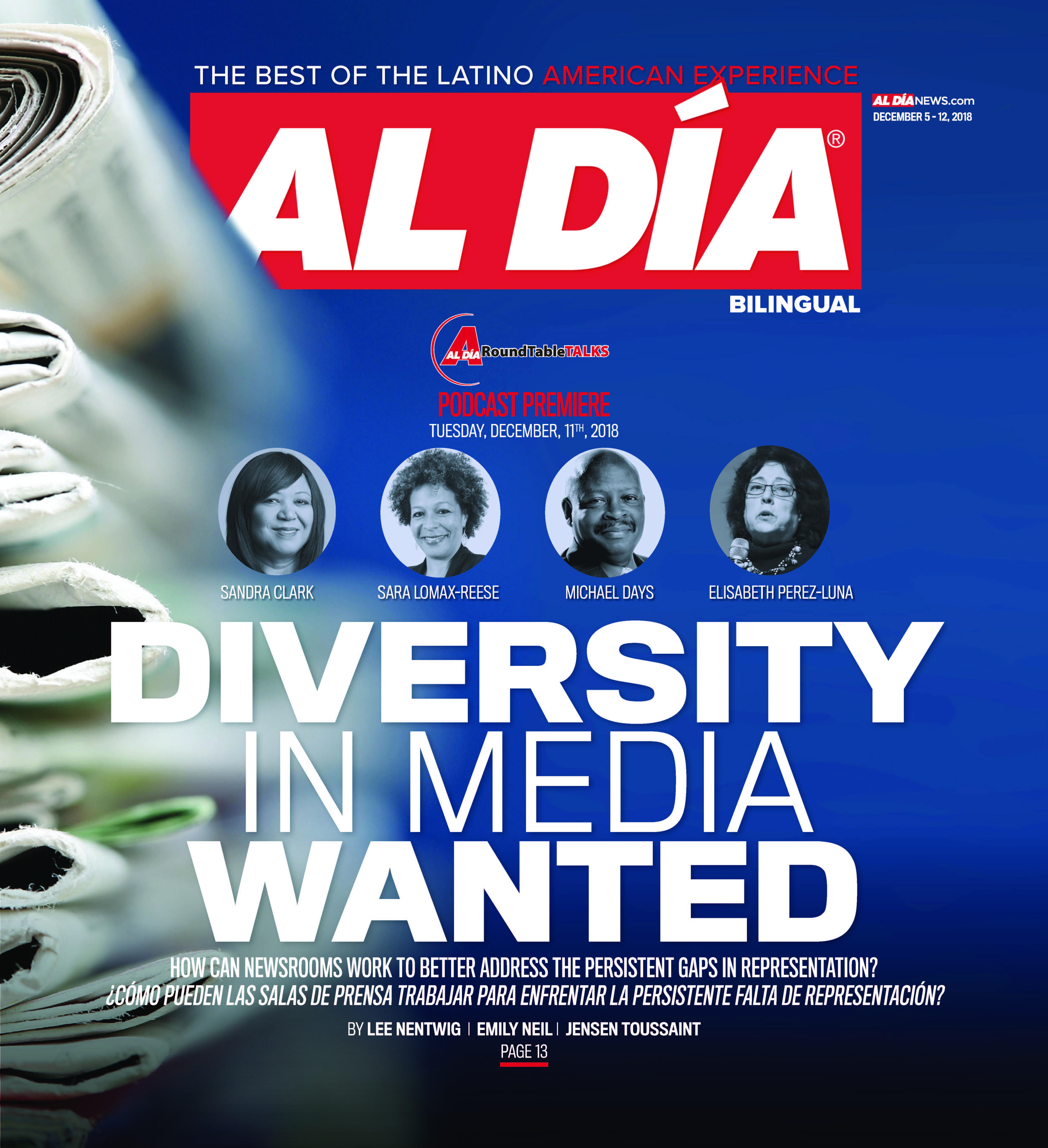 AL DIA News Print Edition December 05 - 12, 2018