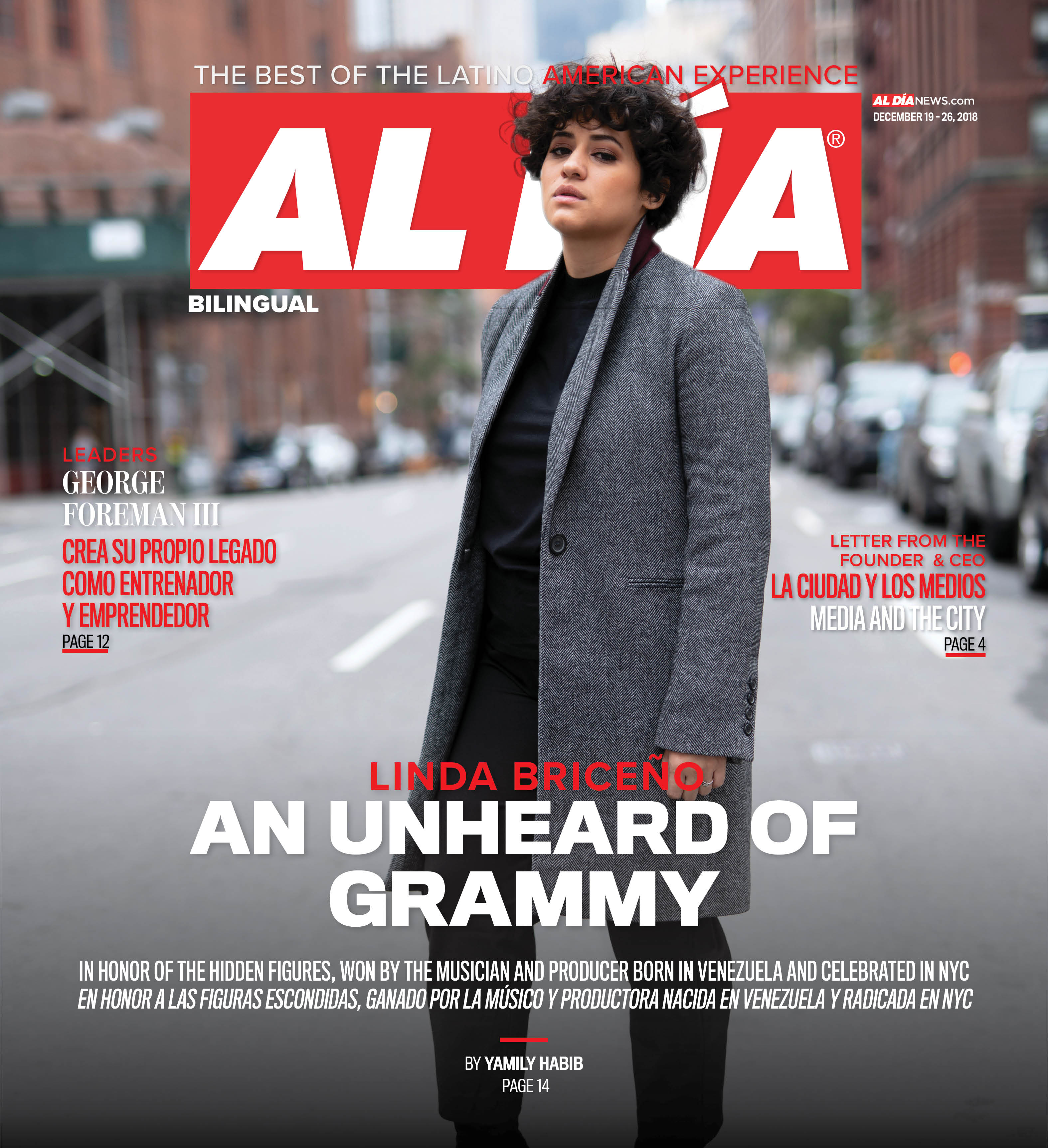 AL DIA News Print Edition December 19 - 26, 2018