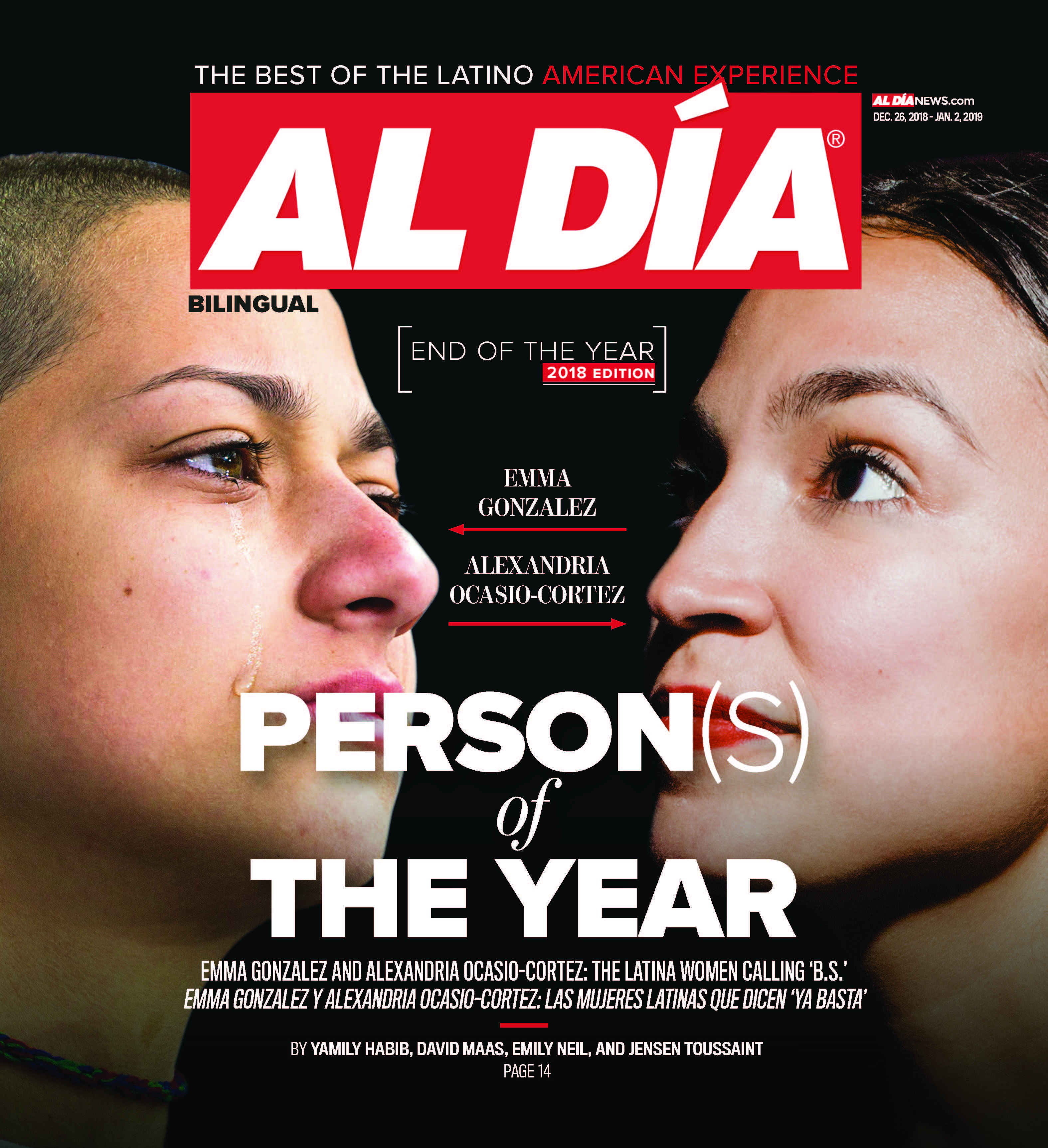 AL DIA News Print Edition December 26 2018 - January 02, 2019