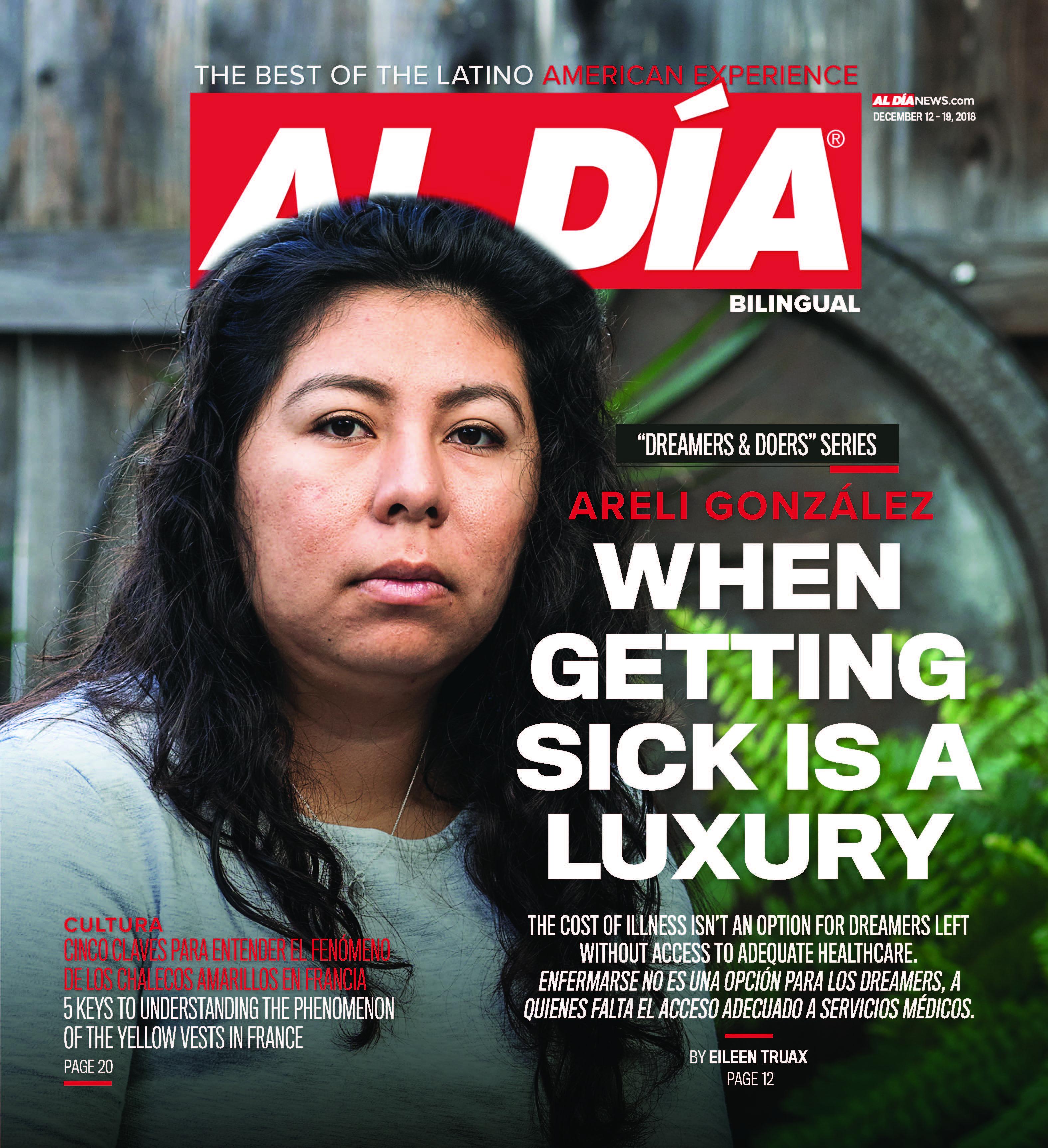 AL DIA News Print Edition December 12 - 19, 2018