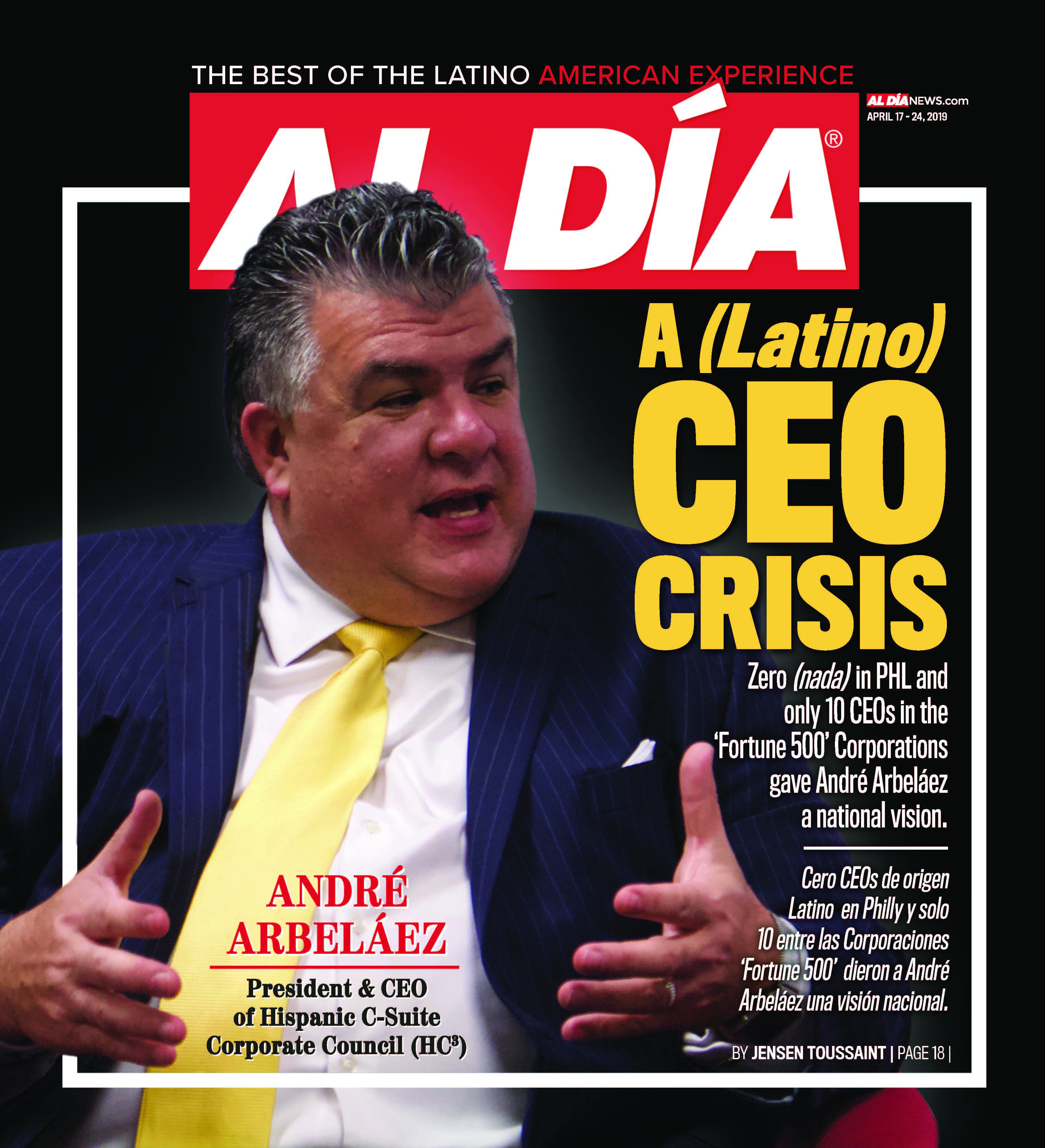 AL DIA News Print Edition April 17 - 24, 2019