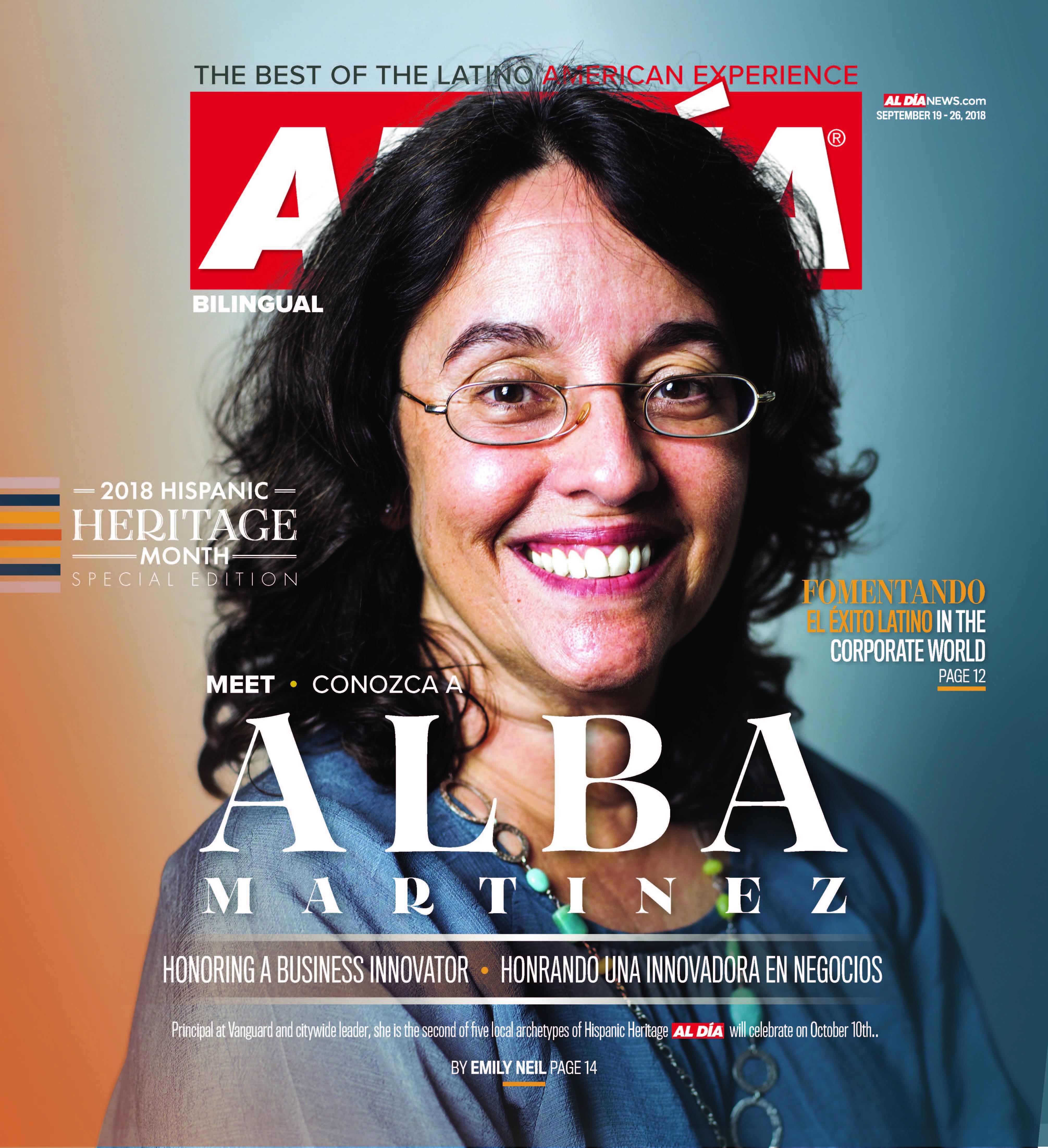 AL DIA News Print Edition September 19 - 26, 2018