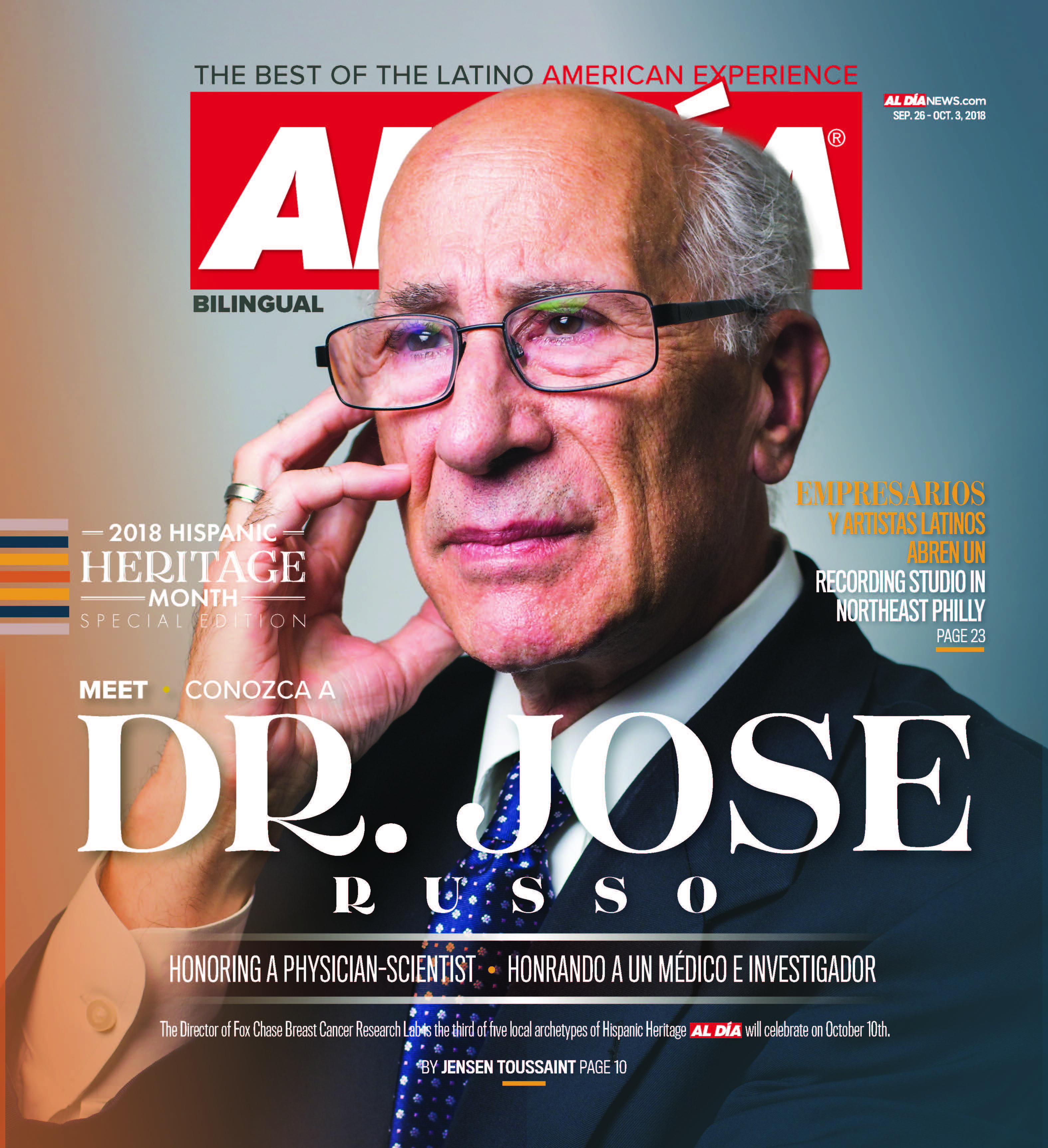 AL DIA News Print Edition September 26 - Oct 03, 2018