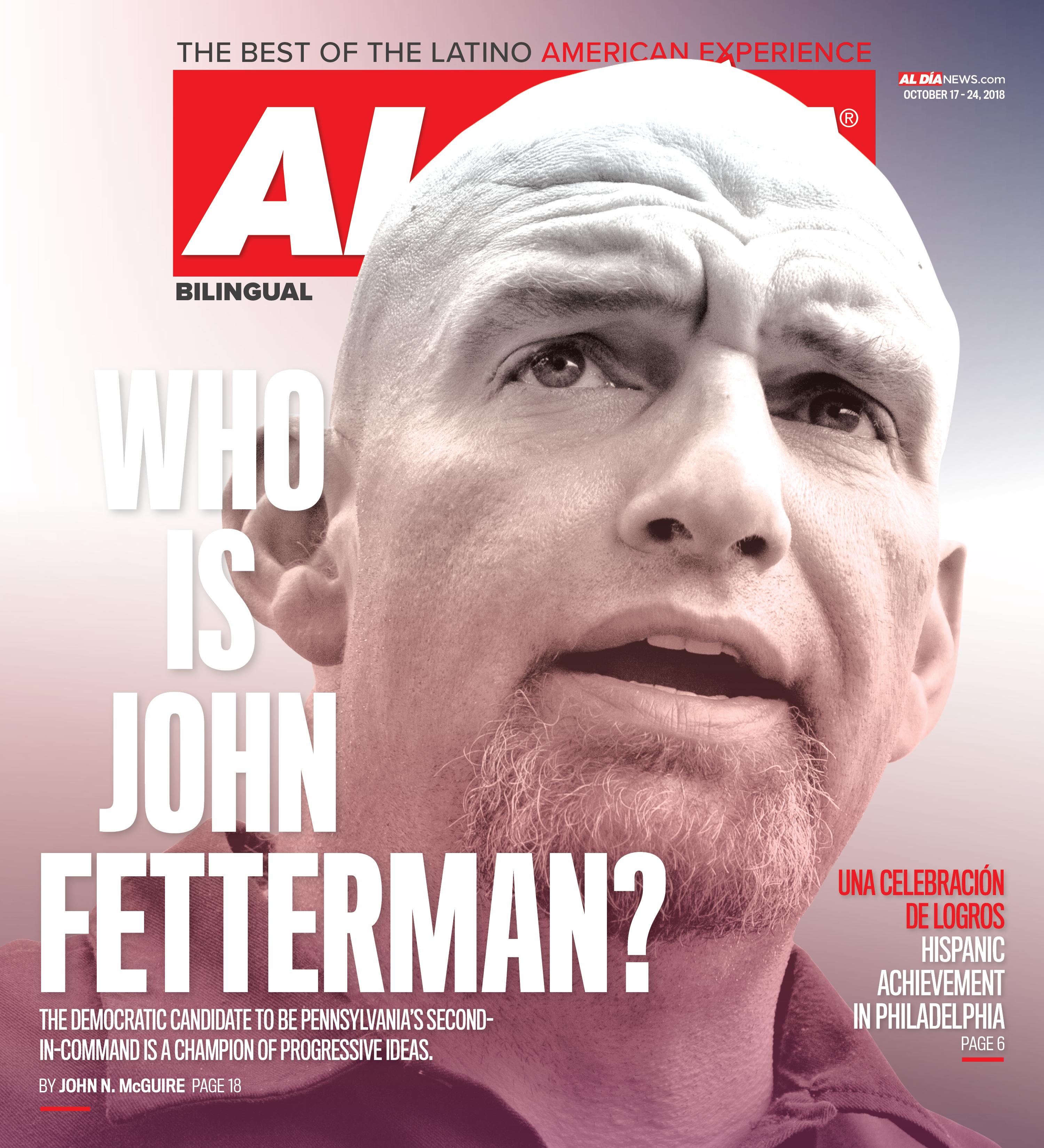 AL DIA News Print Edition October 17 - 24, 2018
