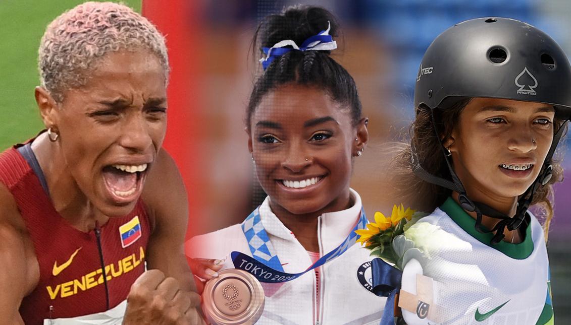 Récord en medallas, latinas poderosas y discusiones incómodas, la huella de las mujeres en Tokio.Getty Images