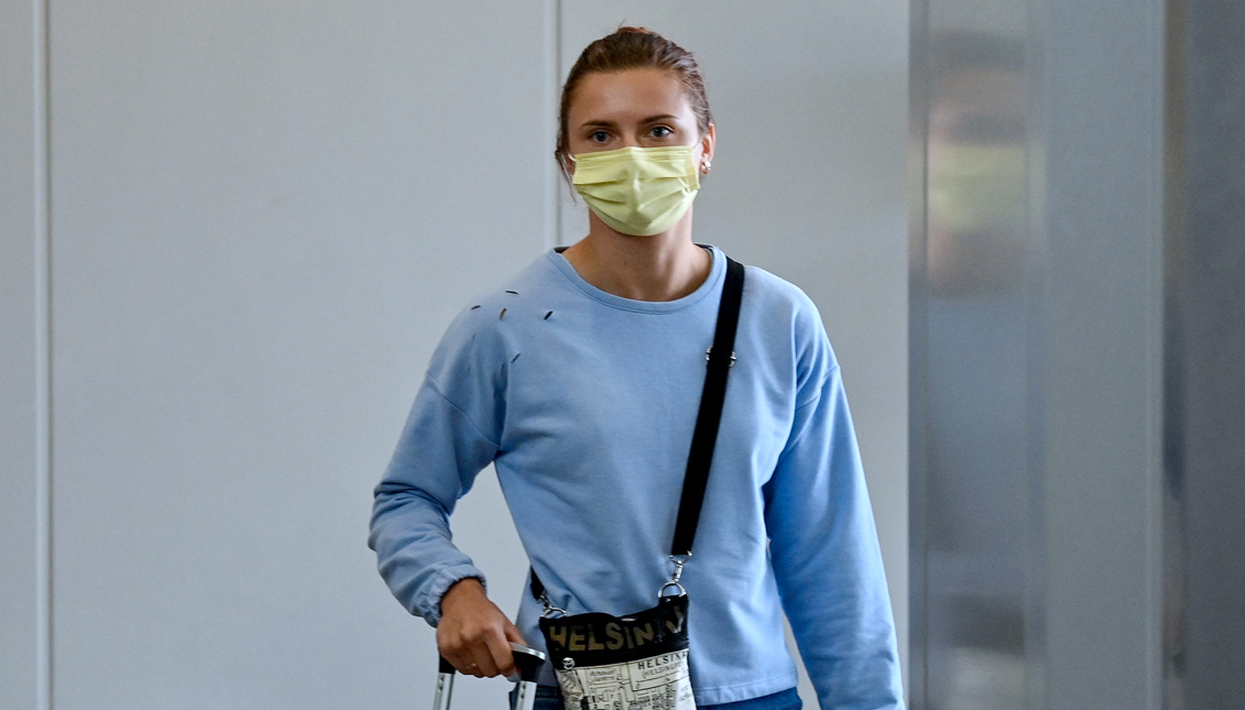 Belarusian athlete Krystina Timanovskaya asked for protection, to not going back to her country. Photo: Getty Images