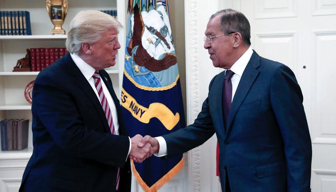 Serguéi Lavrov, Donald Trump,