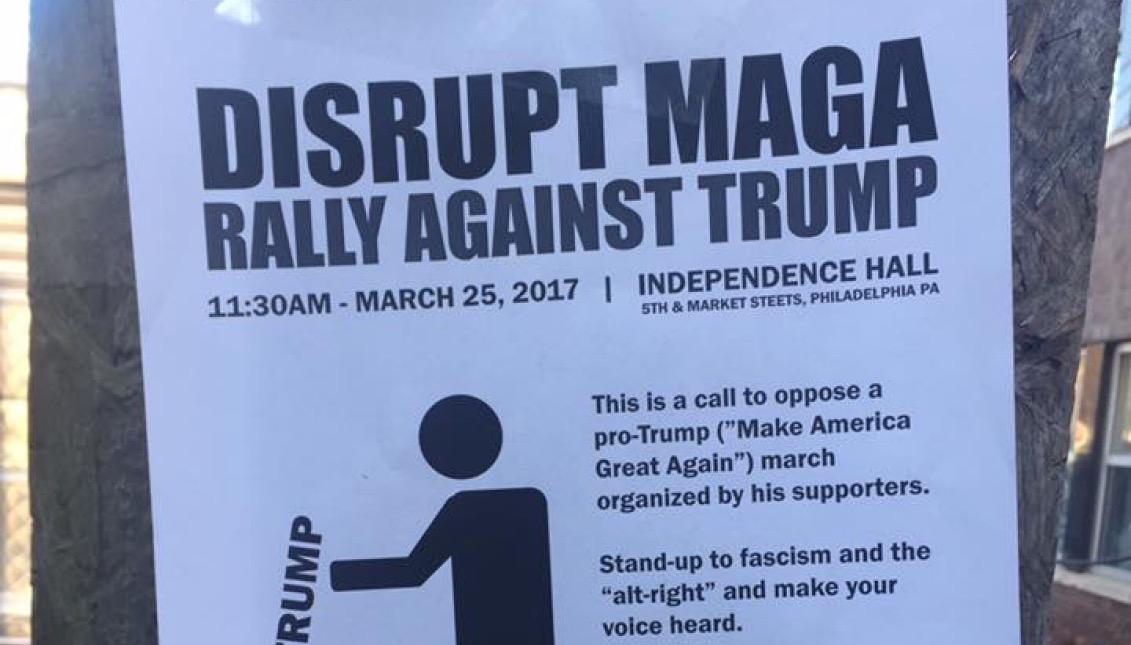 Disrupt MAGA Philly