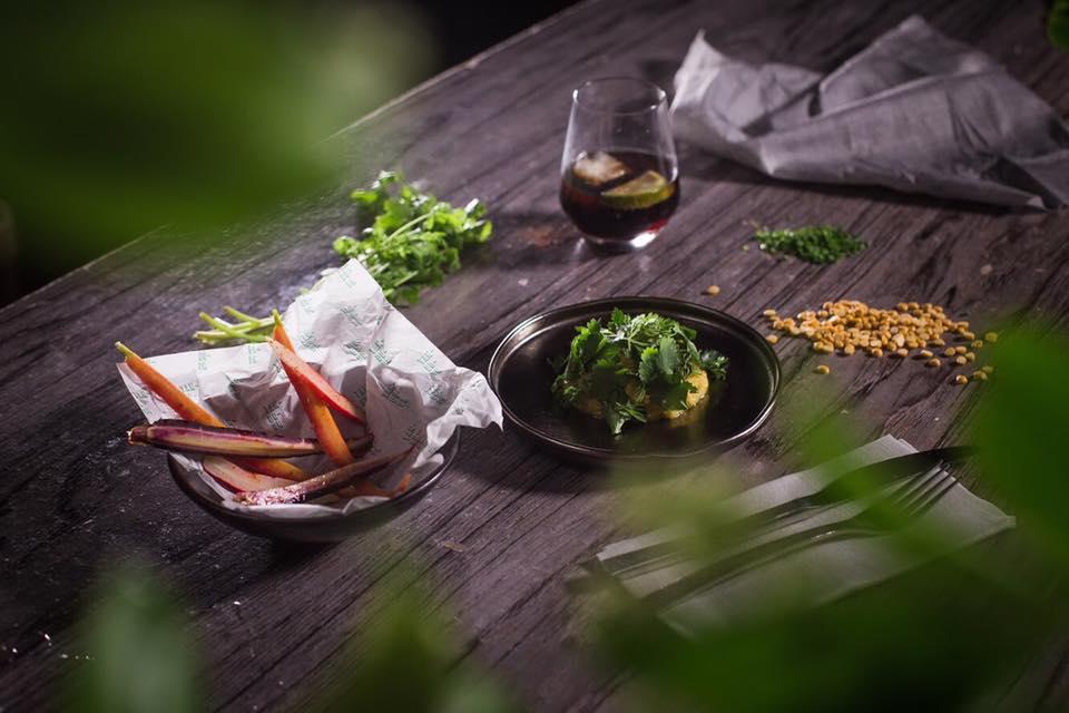Delicioso hummus de Tandoor. Foto: Tandoor
