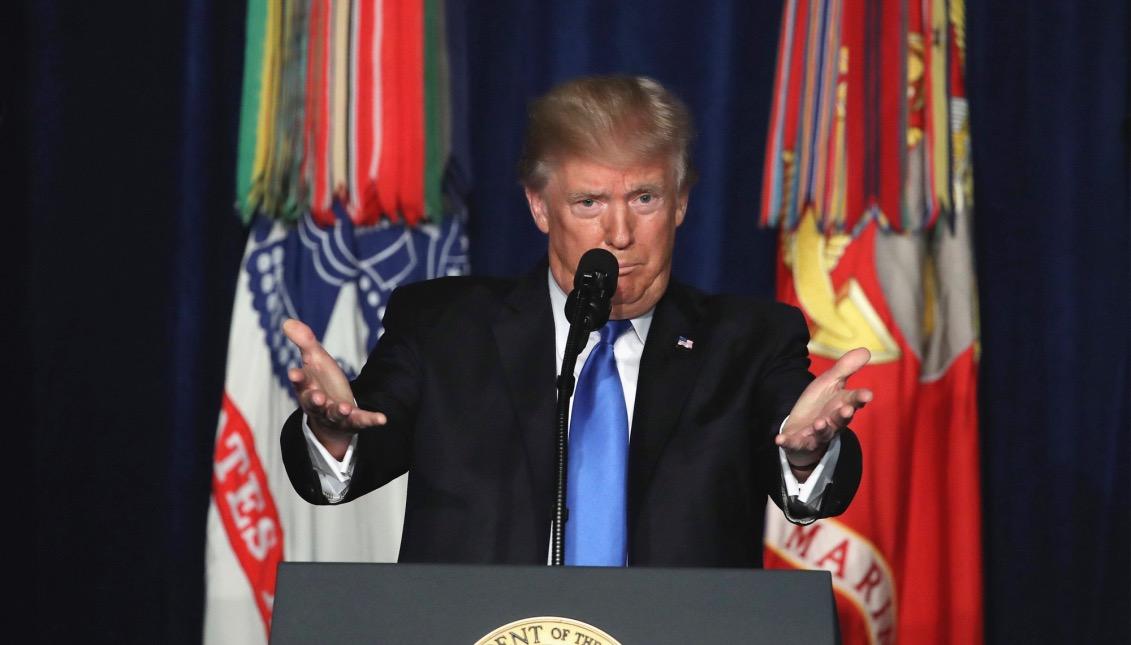 Donald Trump, presidente de EE.UU. Foto: EFE