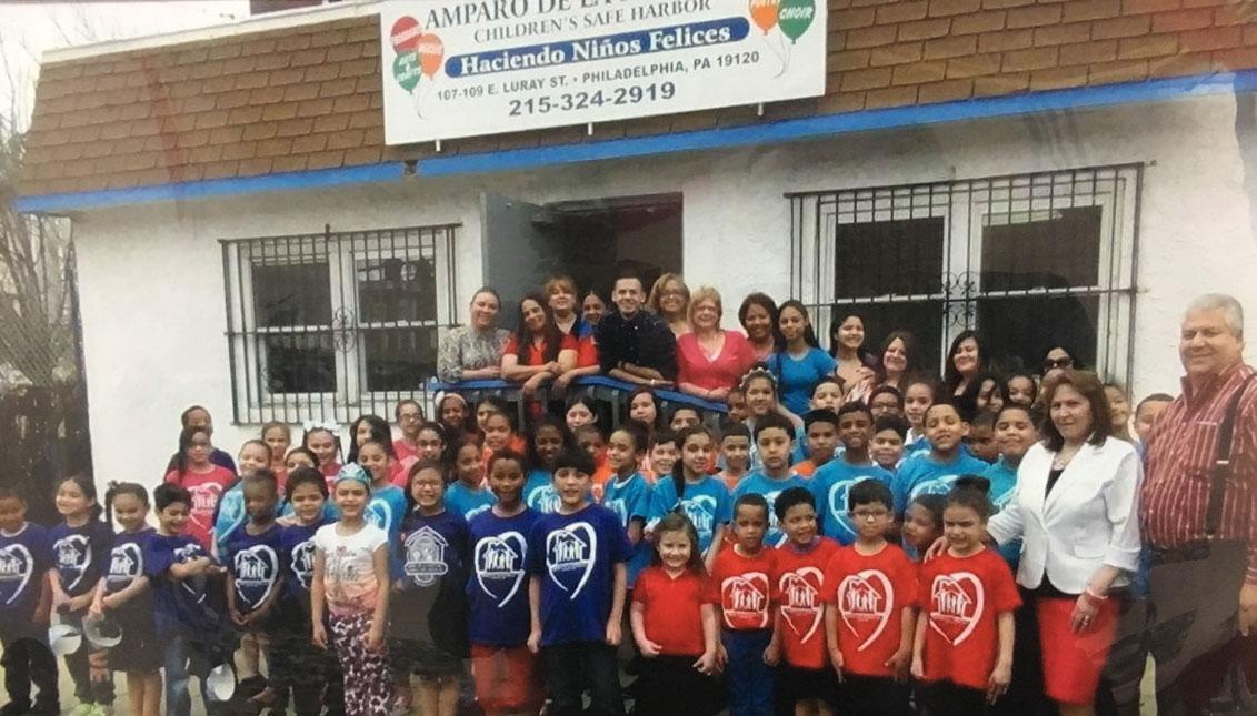 Desde 1988, Amparo de la Niñez ha atendido a miles de niños en el norte de Filadelfia.