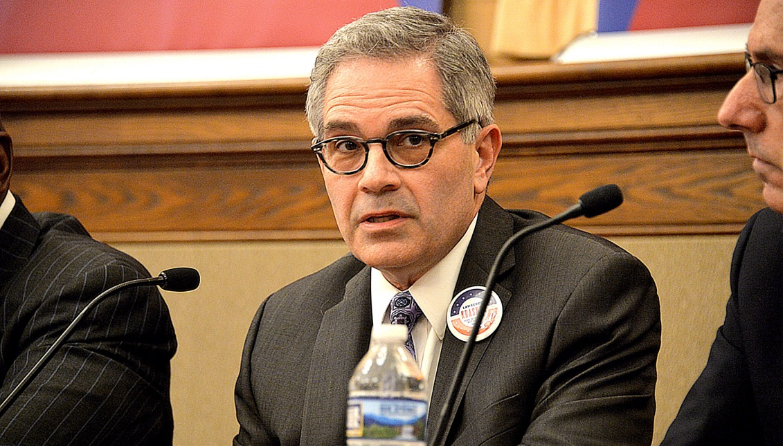 Larry Krasner, civil rights defender, Philadelphia District Attorney Candidate