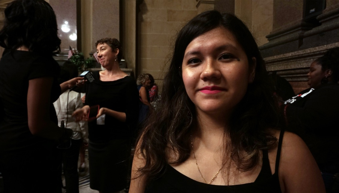 Olivia Vazquez, beneficiaria de DACA.
