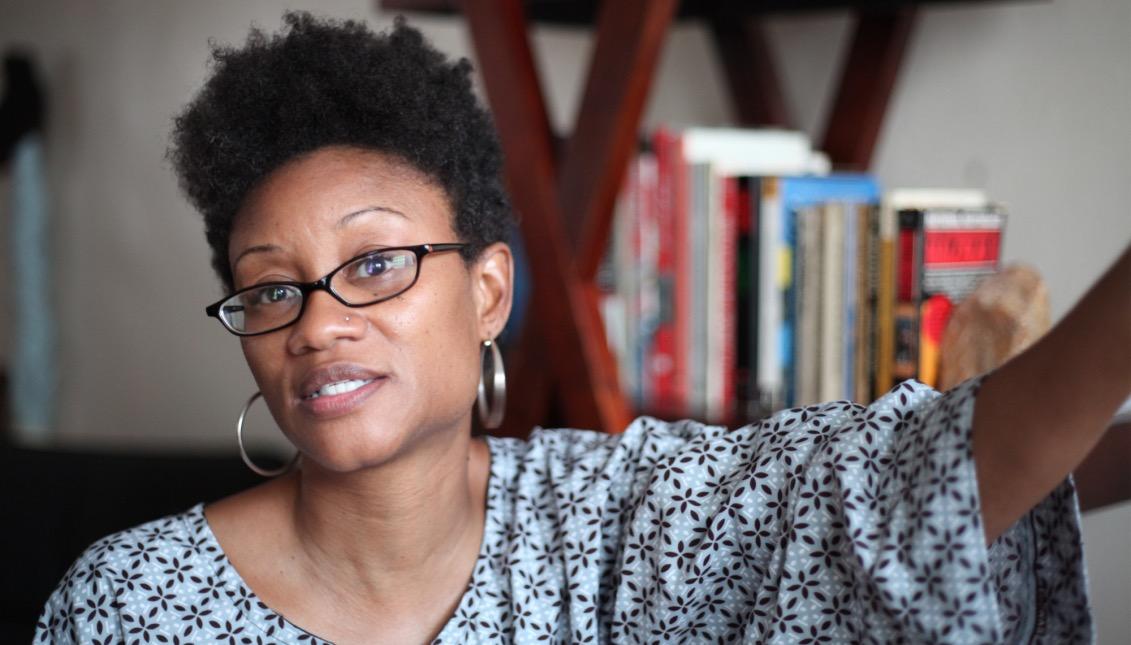 Nyanza Bandele, profesora en Overbrook High School. Foto suministrada.