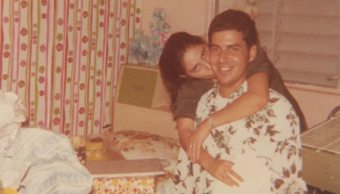 Myrtha y Felipe Castro se conocieron en Luquillo, Puerto Rico, en 1965, cuando tenían 13 años de edad.