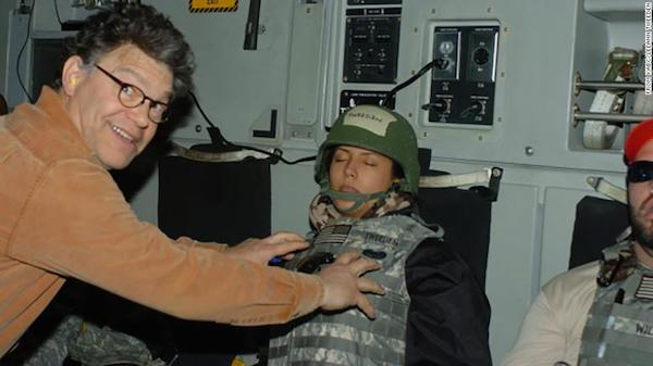 US senator Al Franken apologises after accusation of groping