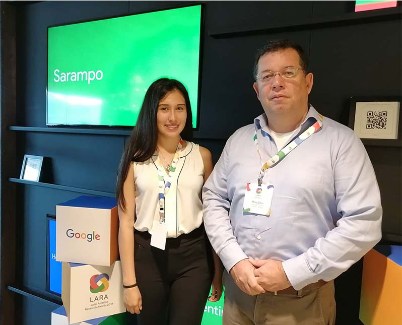 Los investigadores peruanos Mirko Zimic y Macarena Vittet, Universidad Peruana Cayetano Heredia (UPCH). Vía Andina.