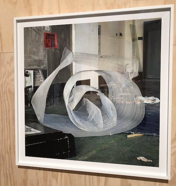Una de las piezas de Anthony Hernández, artista hispano nacido Los Ángeles en 1947. 58 Bienal de Venecia.