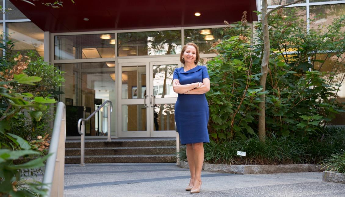 Antonia Villarruel, Dean of School of Nursing at University of Pennsylvania. Photo: Samantha Laub / AL DÍA News